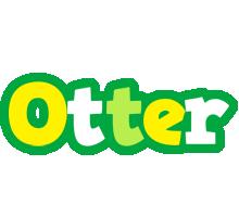 Otter soccer logo