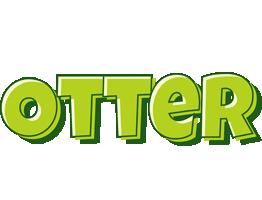 Otter summer logo