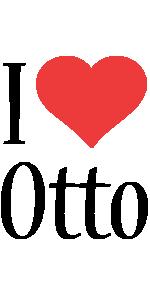 Otto i-love logo