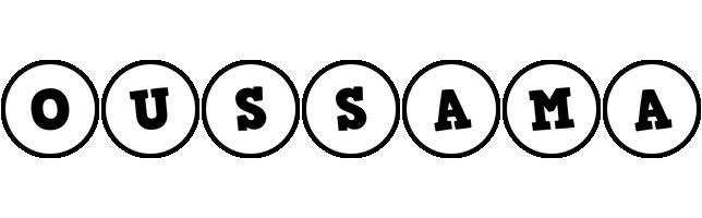 Oussama handy logo