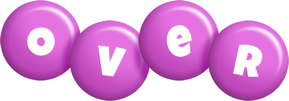 Over candy-purple logo