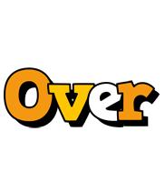 Over cartoon logo