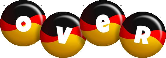 Over german logo