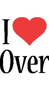 Over i-love logo