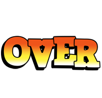 Over sunset logo