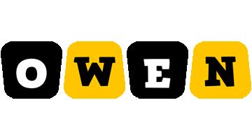 Owen boots logo
