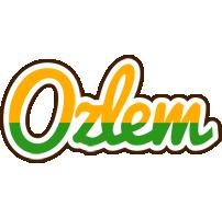 Ozlem banana logo