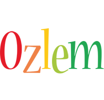 Ozlem birthday logo