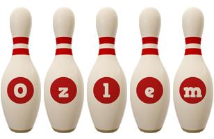 Ozlem bowling-pin logo