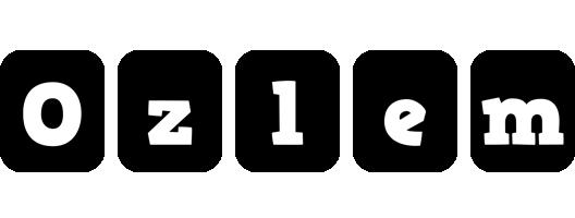 Ozlem box logo