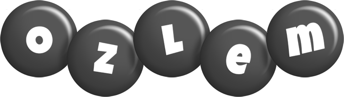 Ozlem candy-black logo