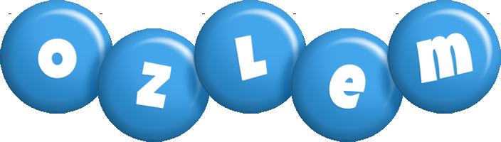 Ozlem candy-blue logo