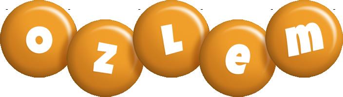 Ozlem candy-orange logo