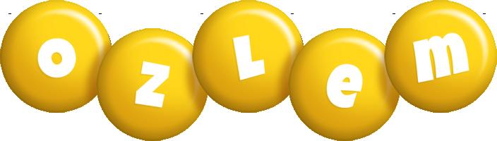 Ozlem candy-yellow logo