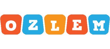 Ozlem comics logo