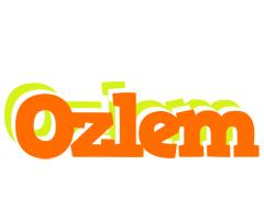 Ozlem healthy logo