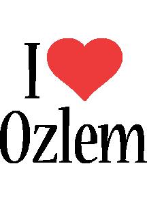 Ozlem i-love logo