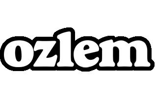 Ozlem panda logo