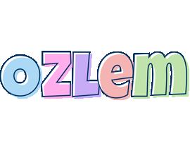 Ozlem pastel logo