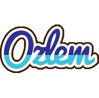Ozlem raining logo