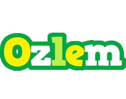 Ozlem soccer logo