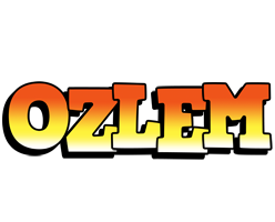 Ozlem sunset logo