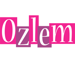 Ozlem whine logo