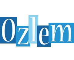 Ozlem winter logo