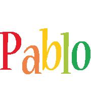 Pablo birthday logo