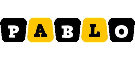 Pablo boots logo