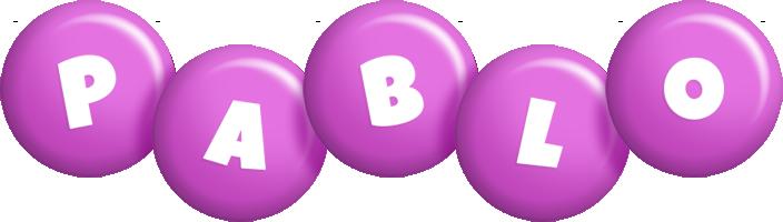 Pablo candy-purple logo