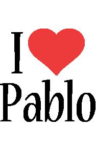 Pablo i-love logo