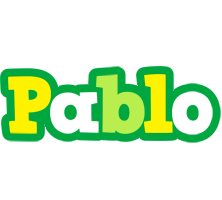 Pablo soccer logo