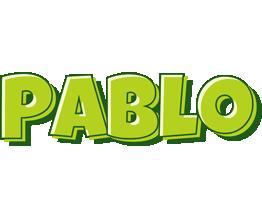 Pablo summer logo