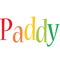 Paddy birthday logo