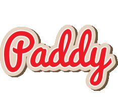 Paddy chocolate logo