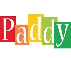 Paddy colors logo