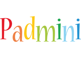 Padmini birthday logo