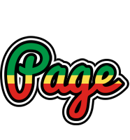Page african logo