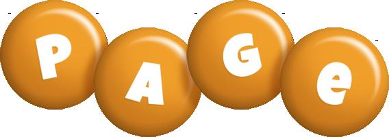 Page candy-orange logo