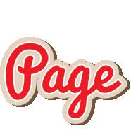 Page chocolate logo