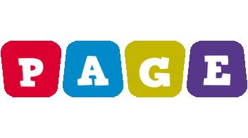 Page daycare logo