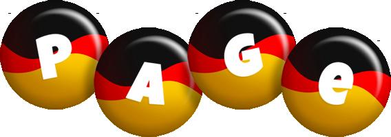 Page german logo