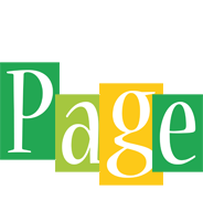 Page lemonade logo