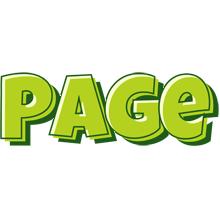 Page summer logo