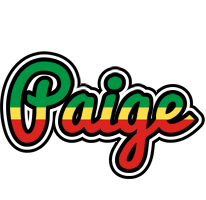 Paige african logo