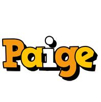 Paige cartoon logo