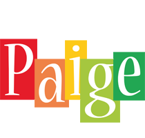 Paige colors logo