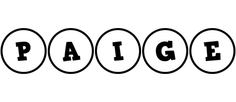 Paige handy logo