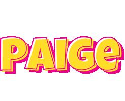 Paige kaboom logo